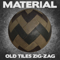 Old Tiles Zig-Zag (Material)