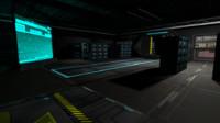 Sci Fi server room