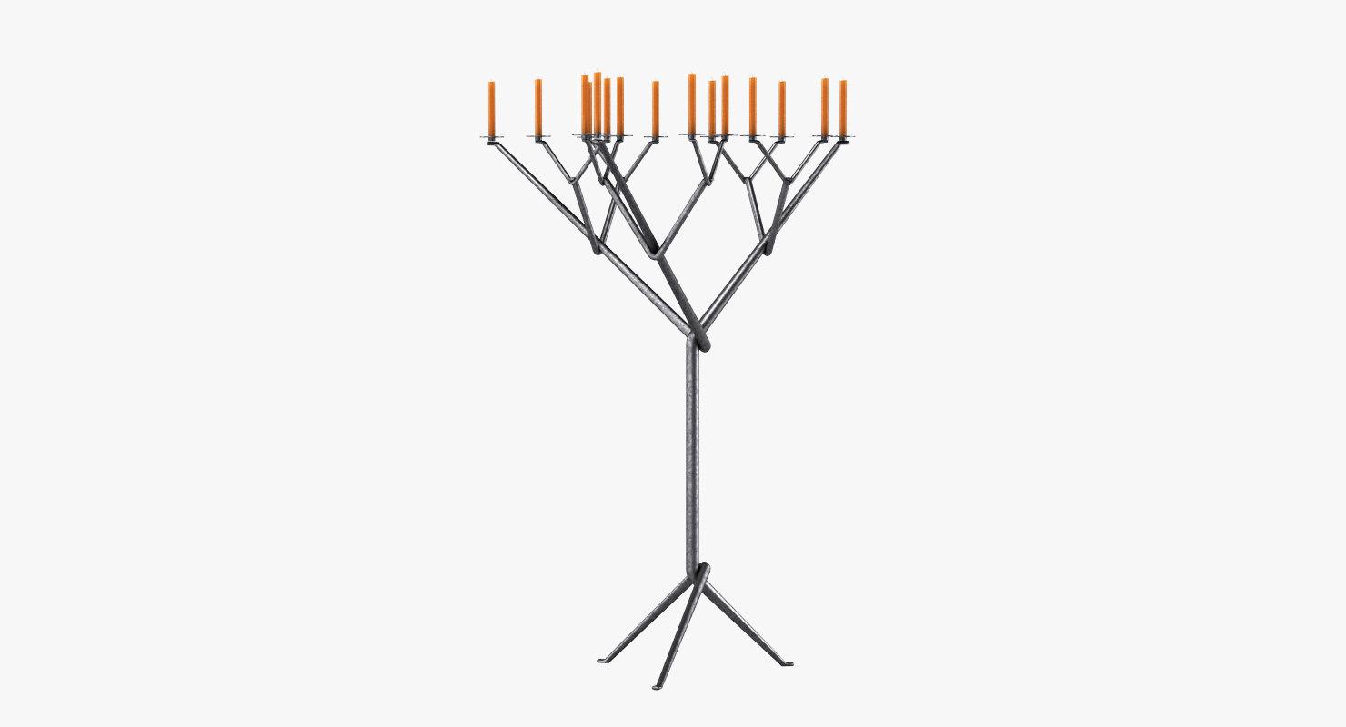 3d model magis officina candlestand