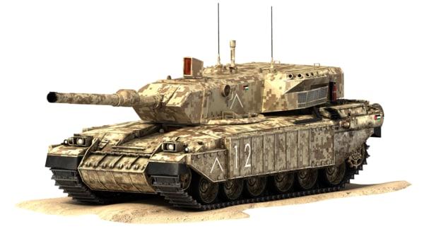 max challenger battle tank falcon