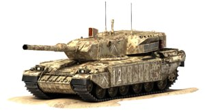 max challenger battle tank falcon