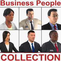 business people 3d max