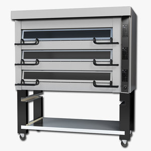 commercial oven 3d max