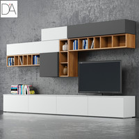 tv stand dallagnese 3d model