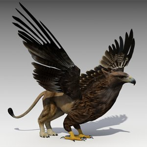3d model griffin animations