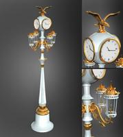 light pole 3d model