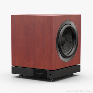3d subwoofer bowers wilkins db3d model