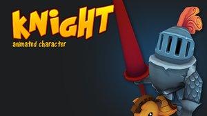 knight character x