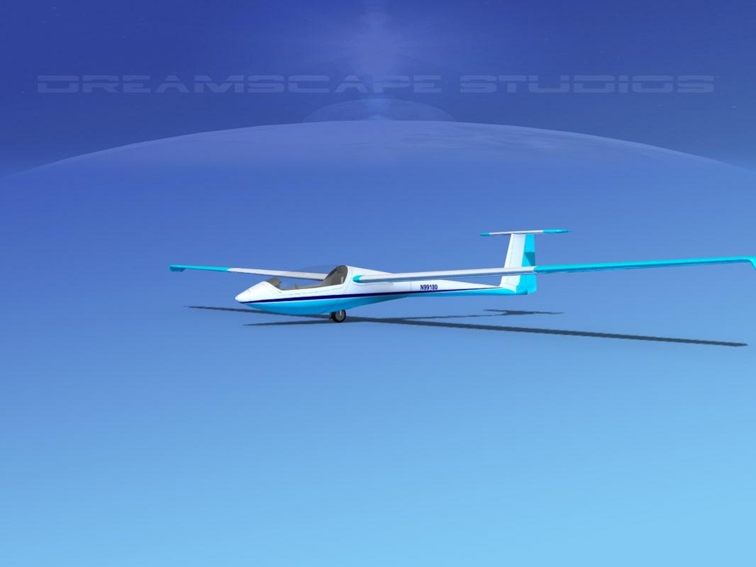 3d model centraire c-101 pegase