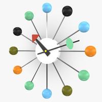 3d max nelson ball clock