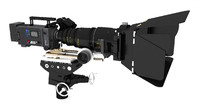 arri alexa movie camera 3d obj