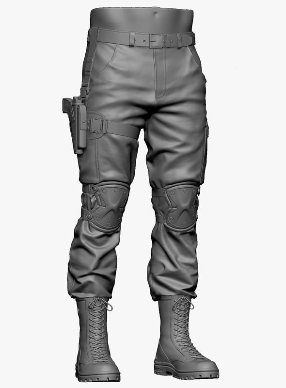 military pants 3ds