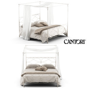 3d bed cantori