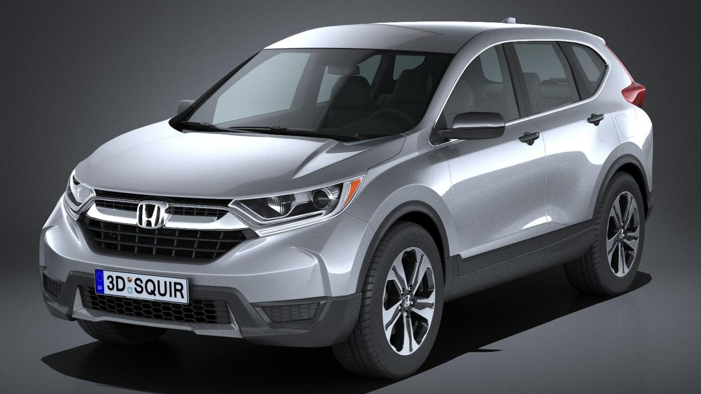 3d honda cr v 2017 model for Honda crv 2017 model