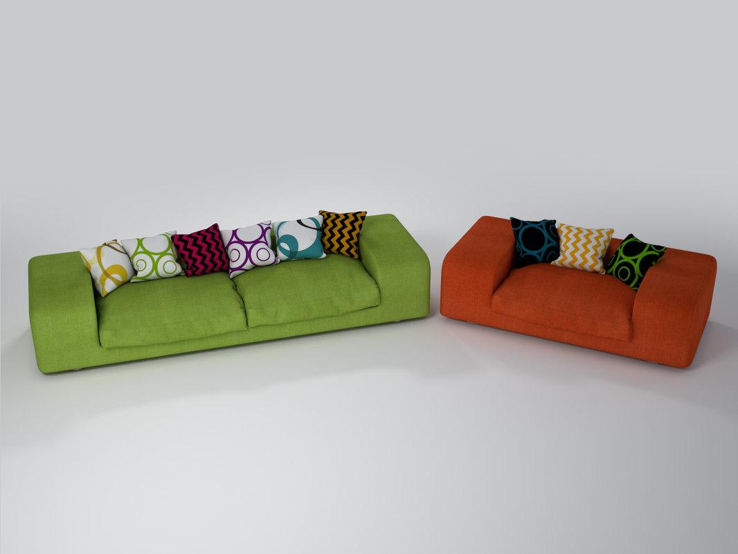chair sofa obj