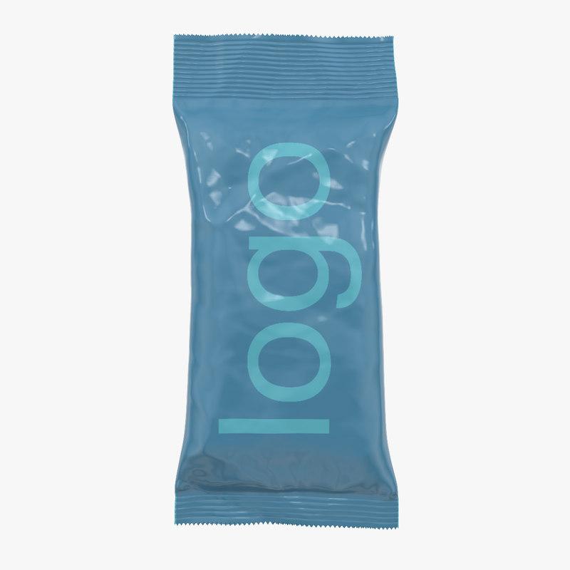pack packaging food 3d model