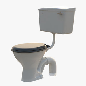 level wc twyford 3d model