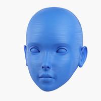 3d doll head print