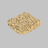 instant noodles 3d model