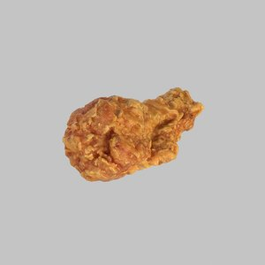 3d hot wings model
