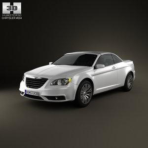 3d model chrysler 200 2011