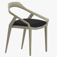 3d monica antelope chair model