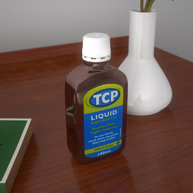 3d 3ds tcp antiseptic
