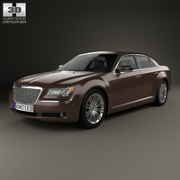 chrysler 300 c 3d model