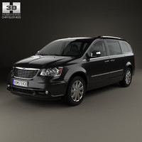 chrysler grand voyager 3d x