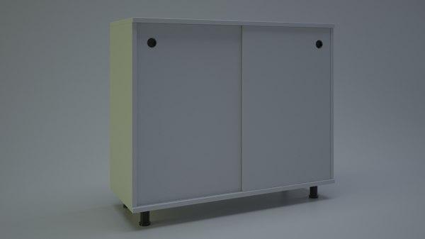 shoe cabinet 3d max