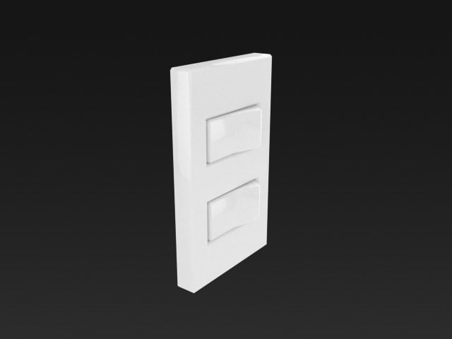 light switch lightswitch 3d model