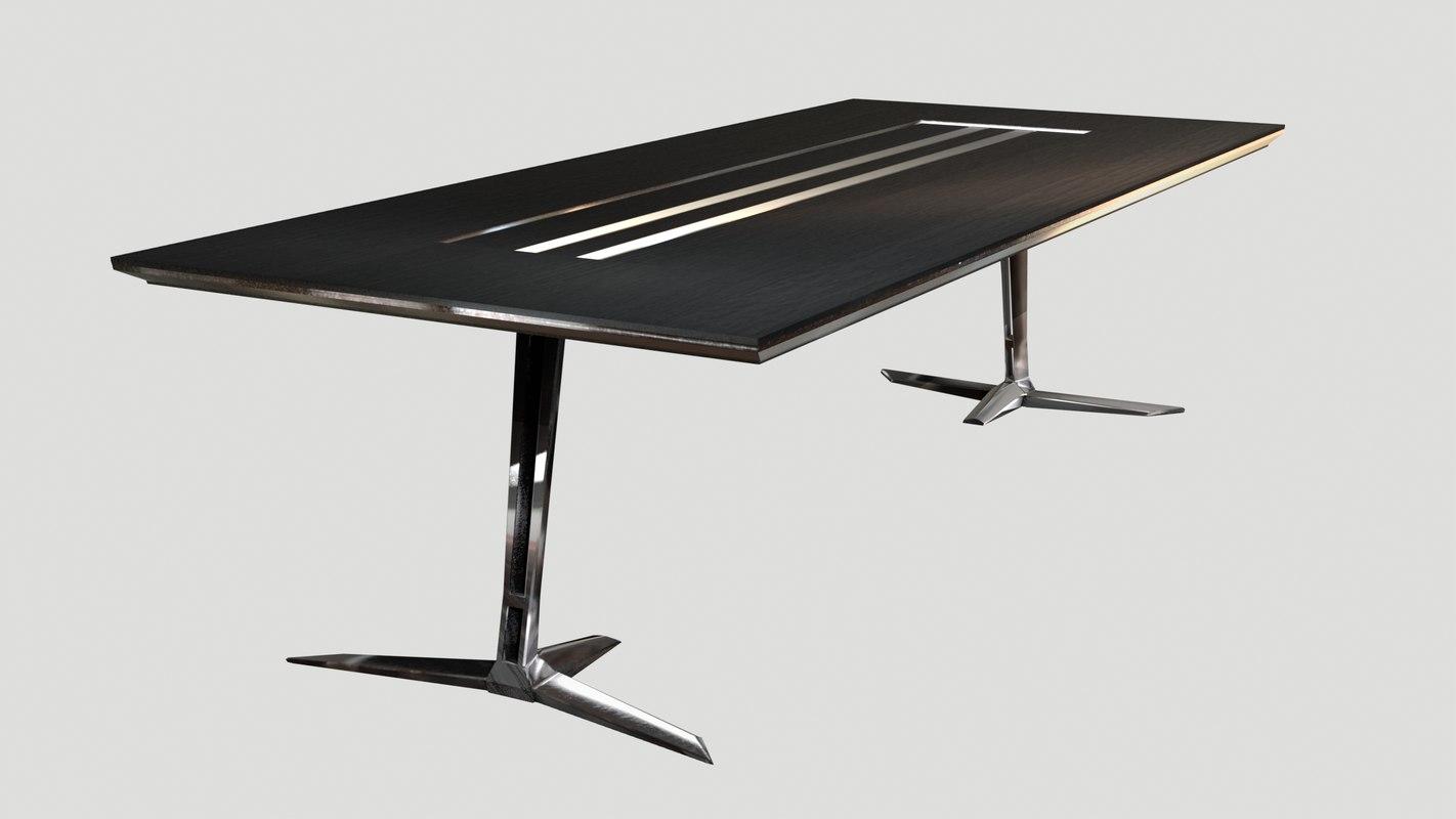 3d model table - scorpion
