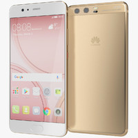 realistic huawei p10 dazzling 3ds