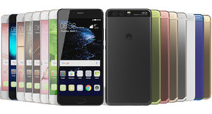 realistic huawei p10 colors 3ds