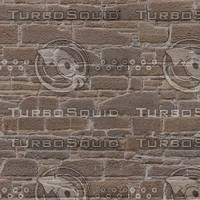 Sandstone Wall Texture With Bump Map