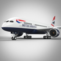 max boeing 787 british airlines