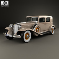 chrysler imperial close 3d c4d