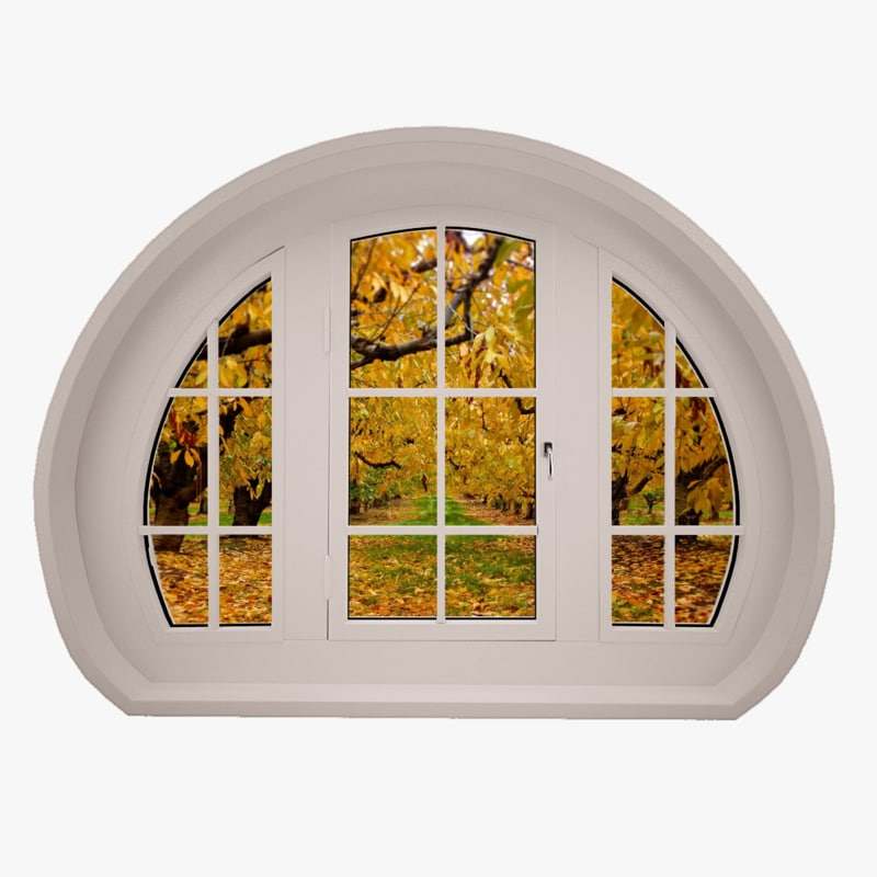 3d plastic windows model