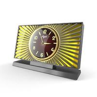 3d realistic clock model