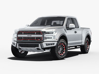 3d model generic pickup