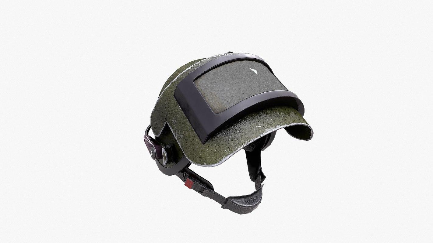 3d altyn russian helmet