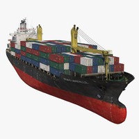 container ship generic max