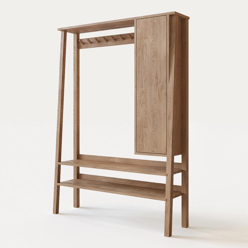 hanger cupboard 3d max