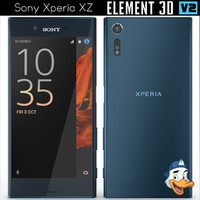 3ds sony xperia xz element