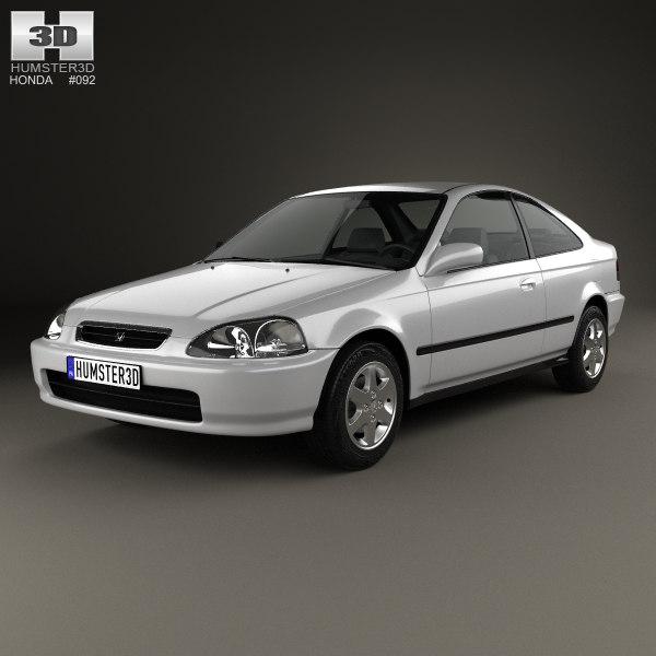 honda civic 1996 3d 3ds