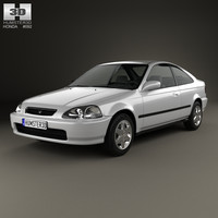 honda civic 1996 3d 3ds