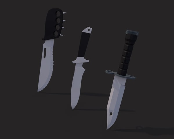 max combat knives pack