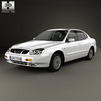 daewoo leganza 1997 3ds