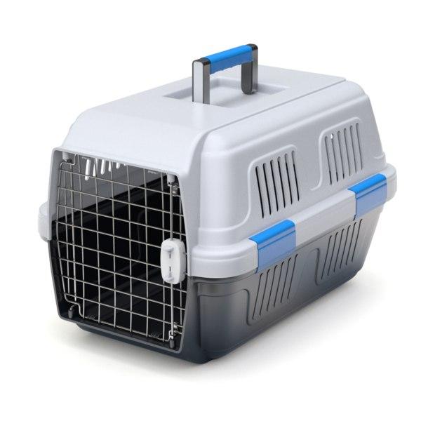 3d pet carrier model