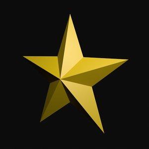 simple star fbx free
